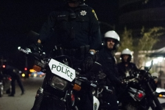 161109-Trump-protest-cops-on-motorcycles-Large