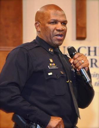 Capt. Ersie Joyner in 2014. Oakland Police Department photo.