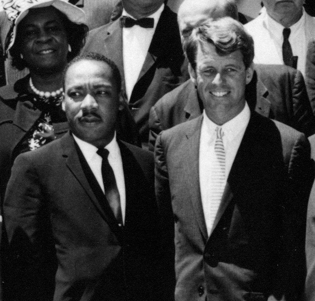 Henderson served as a liaison between the Rev. Martin Luther King Jr. and Robert Kennedy in the 1960s. Photo: John F. Kennedy Presidential Library and Museum.