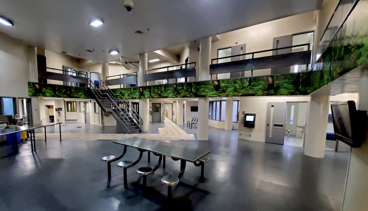 The county's new behavioral health unit is designed with at-risk inmates in mind. Contra Costa County Sheriff's Office photo.